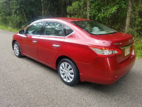 2013 Nissan Sentra for sale at J & J Auto Brokers in Slidell LA