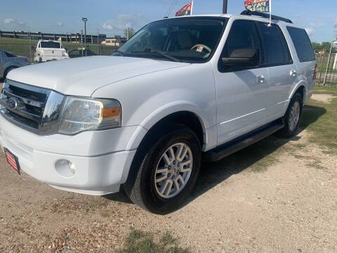 2011 Ford Expedition for sale at FAIR DEAL AUTO SALES INC in Houston TX