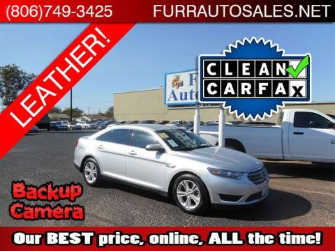2015 Ford Taurus for sale at FURR AUTO SALES in Lubbock TX