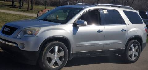 2009 GMC Acadia for sale at Superior Auto Sales in Miamisburg OH