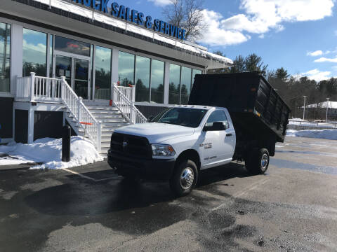 2016 RAM Ram Chassis 3500 for sale at Diesel World Truck Sales - Dump Truck in Plaistow NH