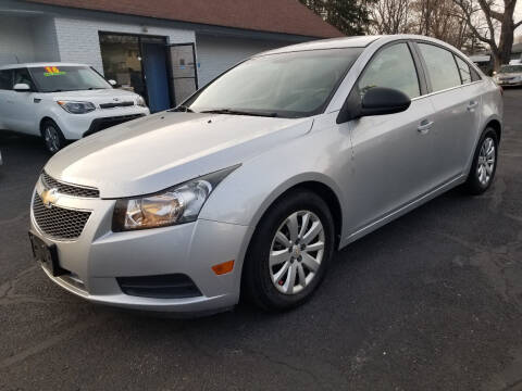 2011 Chevrolet Cruze for sale at Cedar Auto Group LLC in Akron OH