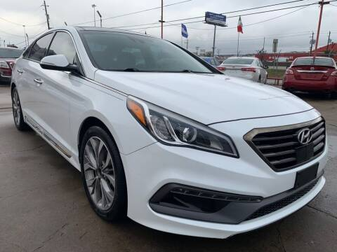 2015 Hyundai Sonata for sale at JAVY AUTO SALES in Houston TX