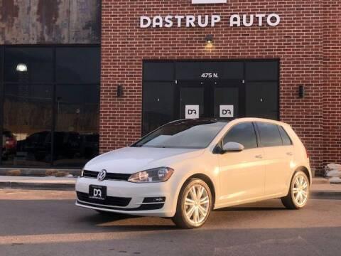 2015 Volkswagen Golf for sale at Dastrup Auto in Lindon UT
