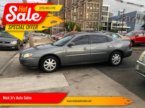 2005 Buick LaCrosse for sale at Nick Jr's Auto Sales in Philadelphia PA