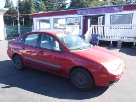 2005 Ford Focus for sale at 777 Auto Sales and Service in Tacoma WA