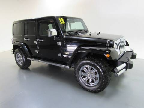 2013 Jeep Wrangler Unlimited for sale at Salinausedcars.com in Salina KS
