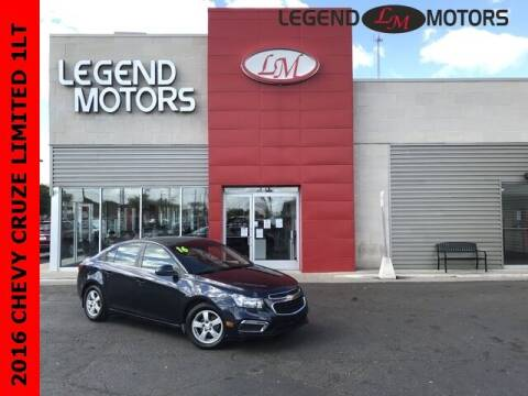 2016 Chevrolet Cruze Limited for sale at Legend Motors of Waterford - Legend Motors of Detroit in Detroit MI