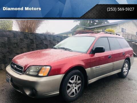 2004 Subaru Outback for sale at Diamond Motors in Lakewood WA
