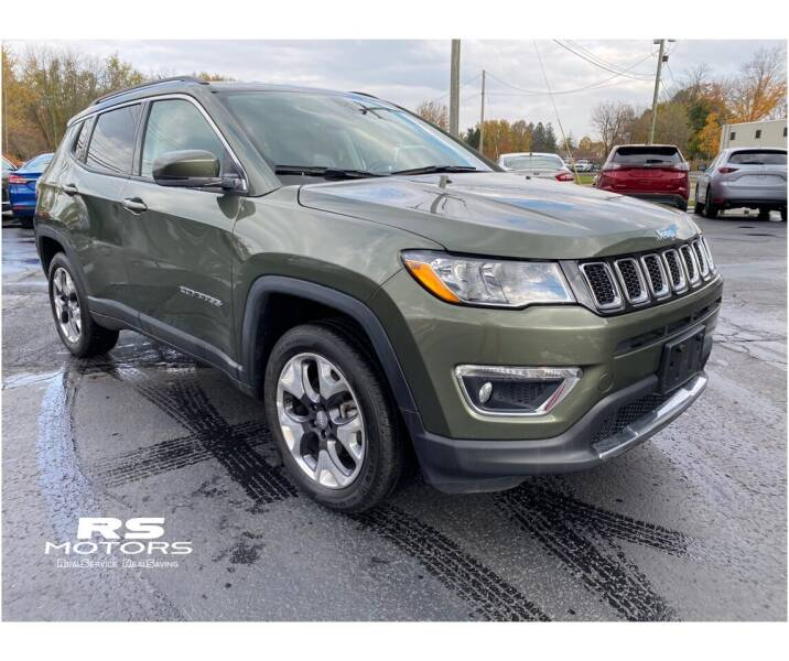 2020 Jeep Compass for sale at RS Motors in Falconer NY