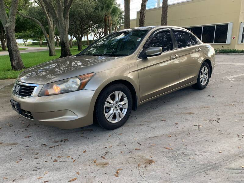2008 Honda Accord for sale at Ultimate Dream Cars in Royal Palm Beach FL