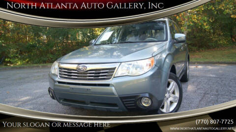 2009 Subaru Forester for sale at North Atlanta Auto Gallery, Inc in Alpharetta GA