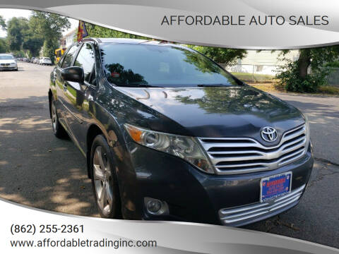 2009 Toyota Venza for sale at Affordable Auto Sales in Irvington NJ