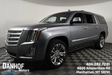 2020 Cadillac Escalade ESV for sale at Danhof Motors in Manhattan MT