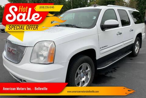 2007 GMC Yukon XL for sale at American Motors Inc. - Belleville in Belleville IL