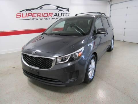 2015 Kia Sedona for sale at Superior Auto Sales in New Windsor NY