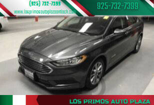 2017 Ford Fusion Hybrid for sale at Los Primos Auto Plaza in Antioch CA