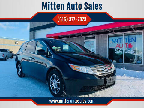 2011 Honda Odyssey for sale at Mitten Auto Sales in Holland MI