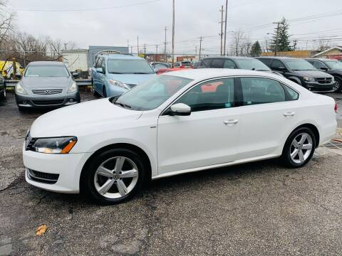 2014 Volkswagen Passat for sale at Ohio Auto Connection Inc in Maple Heights OH