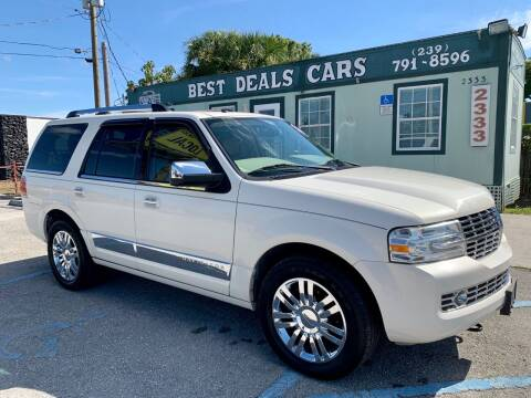 2007 Lincoln Navigator for sale at Best Deals Cars Inc in Fort Myers FL