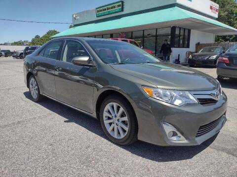 2014 Toyota Camry for sale at Action Auto Specialist in Norfolk VA