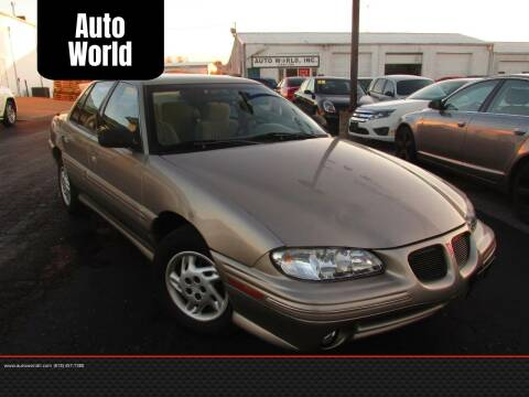 1998 Pontiac Grand Am for sale at Auto World in Carbondale IL