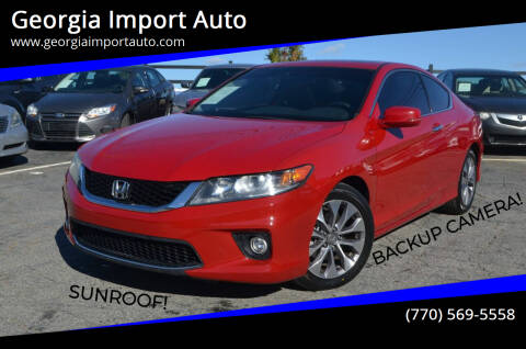 2013 Honda Accord for sale at Georgia Import Auto in Alpharetta GA