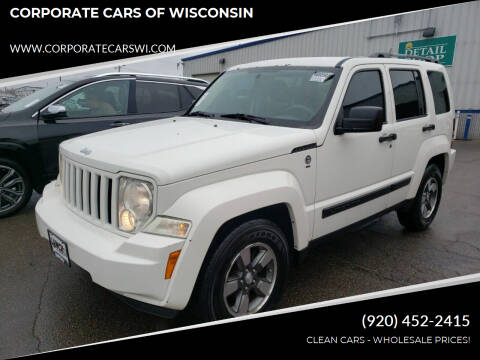 2008 Jeep Liberty for sale at CORPORATE CARS OF WISCONSIN - DAVES AUTO SALES OF SHEBOYGAN in Sheboygan WI