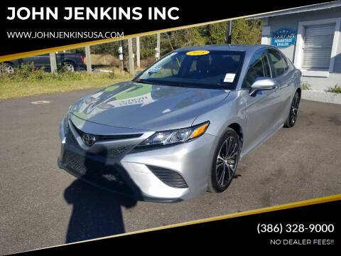 2018 Toyota Camry for sale at JOHN JENKINS INC in Palatka FL