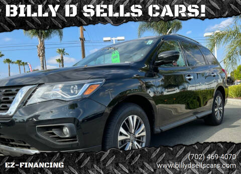 2019 Nissan Pathfinder for sale at BILLY D SELLS CARS! in Temecula CA