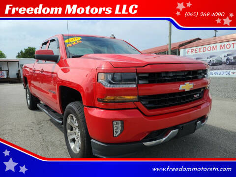 2016 Chevrolet Silverado 1500 for sale at Freedom Motors LLC in Knoxville TN