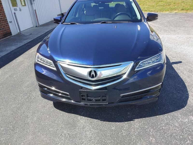 2015 Acura TLX for sale at Precision Glass, Inc. in Christiansburg VA