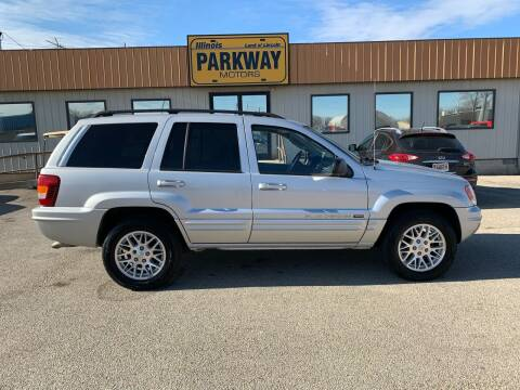 2004 Jeep Grand Cherokee for sale at Parkway Motors in Springfield IL