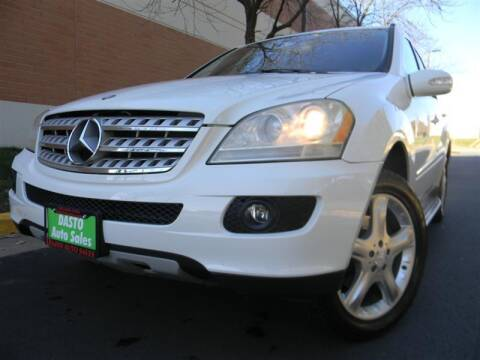 2008 Mercedes-Benz M-Class for sale at Dasto Auto Sales in Manassas VA