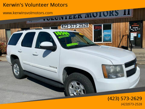 2007 Chevrolet Tahoe for sale at Kerwin's Volunteer Motors in Bristol TN