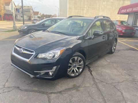 2016 Subaru Impreza for sale at Fine Auto Sales in Cudahy WI