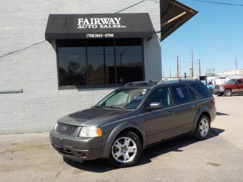 2006 Ford Freestyle for sale at FAIRWAY AUTO SALES, INC. in Melrose Park IL