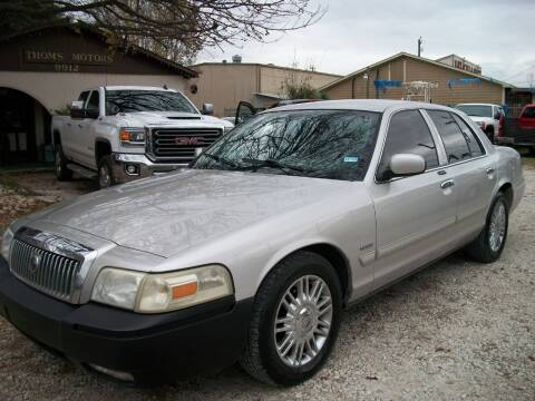 2009 Mercury Grand Marquis for sale at THOM'S MOTORS in Houston TX
