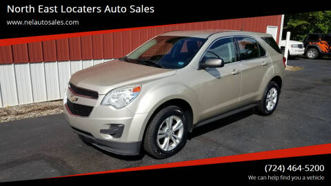 2013 Chevrolet Equinox for sale at North East Locaters Auto Sales in Indiana PA