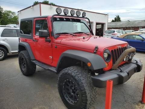 2008 Jeep Wrangler for sale at J & J Used Cars inc in Wayne MI