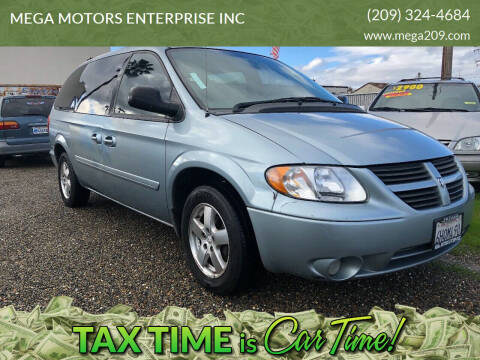 2005 Dodge Grand Caravan for sale at MEGA MOTORS ENTERPRISE INC in Modesto CA