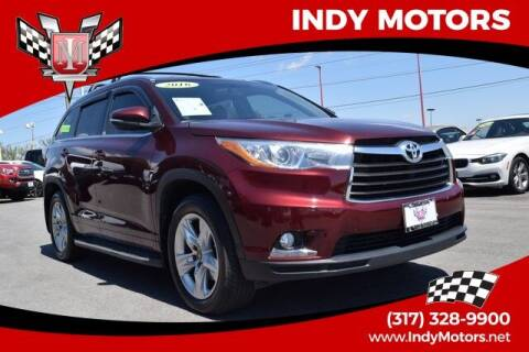 2016 Toyota Highlander for sale at Indy Motors Inc in Indianapolis IN