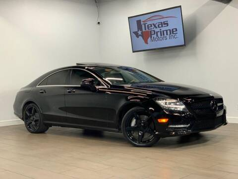 2013 Mercedes-Benz CLS for sale at Texas Prime Motors in Houston TX