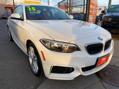2015 BMW 2 Series for sale at TOP SHELF AUTOMOTIVE in Newark NJ