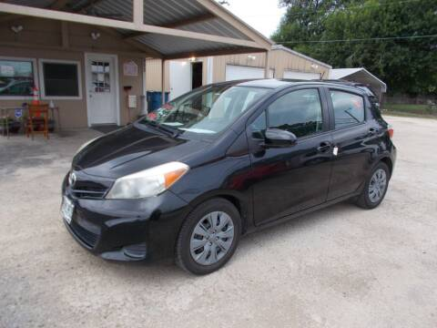 2014 Toyota Yaris for sale at DISCOUNT AUTOS in Cibolo TX