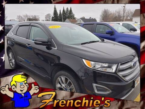 2017 Ford Edge for sale at Frenchie's Chevrolet and Selects in Massena NY