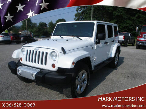 2013 Jeep Wrangler Unlimited for sale at Mark Motors Inc in Gray KY