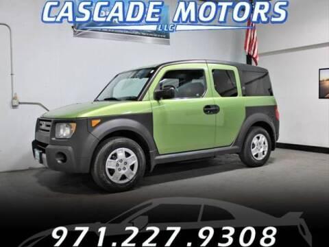 2008 Honda Element for sale at Cascade Motors in Portland OR