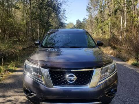 2014 Nissan Pathfinder for sale at J & J Auto Brokers in Slidell LA