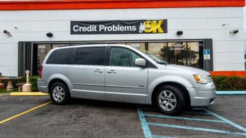 2008 Chrysler Town and Country for sale at Car Depot in Miramar FL